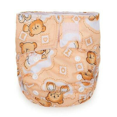 Kawaii Baby Pure & Natural Newborn Cloth Diaper 6 - 22 Lb With 2 Inserts New
