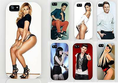 Pop Acts Mobile Phone Clip On Cover Beyonce/olly/bruno/rhianna/jessie J