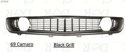 3 DAY SALE Camaro 69 Standard Grill Black 1969 Grille w/ Chrome Molding In Stock