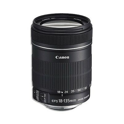 NEW USA Model Canon 18-135mm IS f/3.5-5.6 EF-S Image Stabilizer Lens