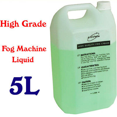 Fog Smoke Machine Fluid Liquid Water-base 5 L For Standard Fog Smoke Machines