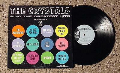 THE CRYSTALS SING THE GREATEST HITS PHLP-4003 MEGA-RARE 1963 1ST PRESS  EX+ $600
