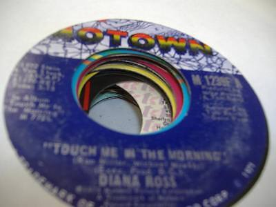 Soul 45 DIANA ROSS Touch Me In The Morning on Motown