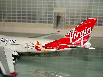 Gemini Jets Virgin Atlantic B747 -400 21st Birthday Girl G-VFAB 1/400 *Free S&H*
