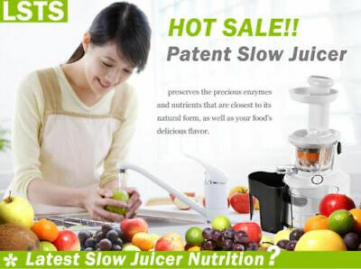 Cold Press Slow Juicer For Maximum Nutrition & Orignal  Flavour/Taste