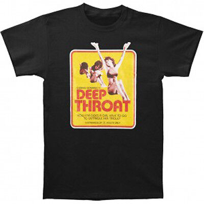 DEEP THROAT - Movie Poster T-shirt - NEW - LARGE ONLY