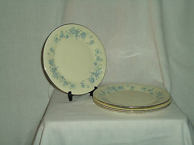 Royal Doulton Romance Collection Michelle Salad/luncheon Plates Lot of 4