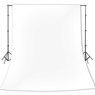 New 10 x 10 Ft White Muslin Backdrop Photo Studio Photography Background