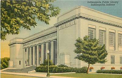 IN-INDIANAPOLIS-PUBLIC LIBRARY-TOWN VIEW-Q8523
