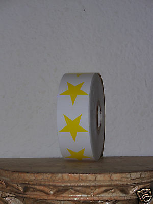 Star Tanning Bed Stickers Temporary Tattoos Body Art Yellow U-Choose Amount Fast