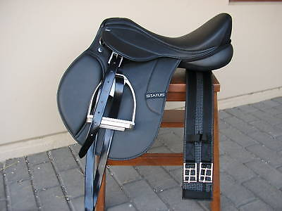 Status Gp / All Purpose Saddle 17.5 inch fully mounted  *NEW*