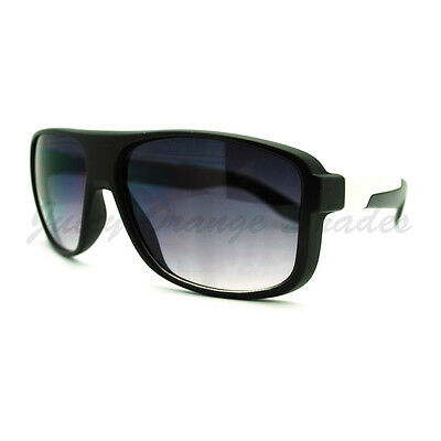addb890f247 MENS FASHION SUNGLASSES Checkered Flat Top Square Racer Metal Frame ...