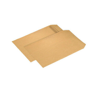 Q-Connect Pocket Envelope B4 353 x 250mm Self Seal 90gsm Manilla (Pack of 250) K