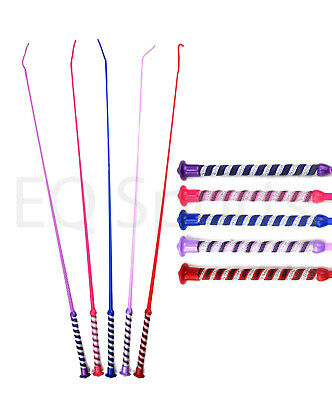 FAST P&P  GLITTER-HANDLE Colourful Dressage/Schooling Whip ALL COLOURS