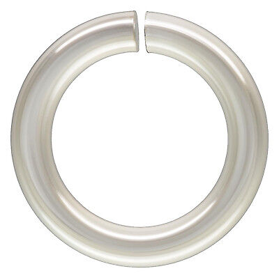 Sterling Silver .925 7mm OPEN Jump Rings. 18 Gauge. Approx. 25 Pieces