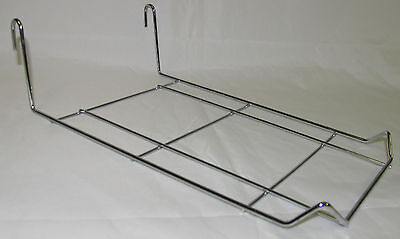 Chrome Gridwall Multi Cap hat Holder for 9-10 hats USED Lot of 10