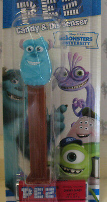 PEZ Monsters University Series - Sulley - Mint on Card