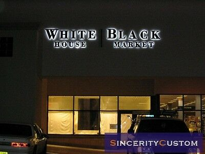 custom-made 3D bright led sign letters channel letters advertising logotype