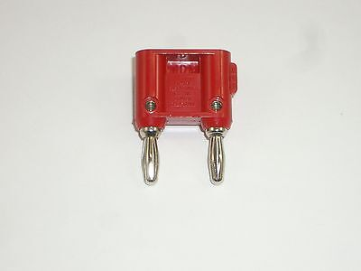 Pomona Mdp-2 Red Dual Stackable Banana Plug