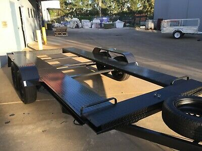 Brand New Tandem Axle Car Trailer 14X6Ft Race Also 12X6 15X6 16X6 18X6 Available