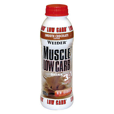 Weider Muscle Low Carb Drink 12 x 500 ml PET-Flasche (5,90 EUR/1000 ml)