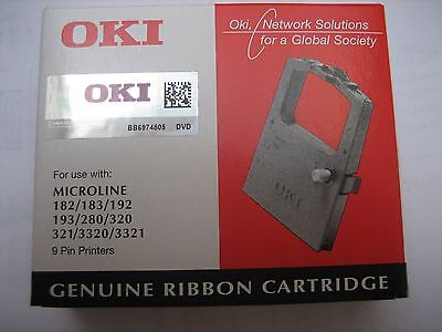 OKI ORIGINAL NEU+OVP  Farbband Ribbon for Microline ML 182 183 320 Mat. 09002303