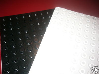 200 BLACK wall bumpers Picture framing  rubber BUMPONS