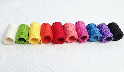 10 ROLLS of SAA MULBERRY PAPER RIBBONS - Gift wrap, Craft, Scrapbooking