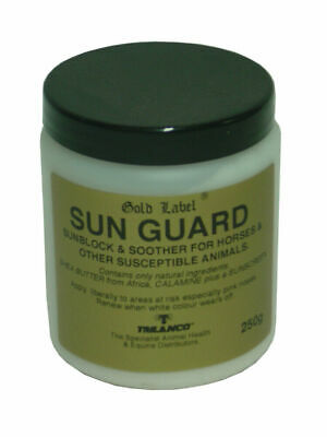 Gold Label Sun Guard Suncreen/Cream 250 Gm - Horse/Pony First Aid Care