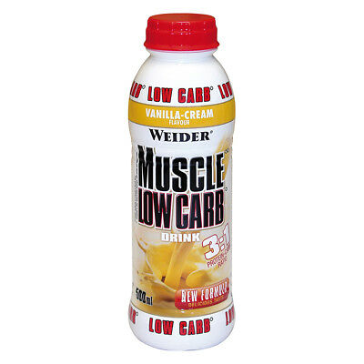 Weider Muscle Low Carb Drink 500 ml PET-Flasche (5,90 EUR/1000 ml)
