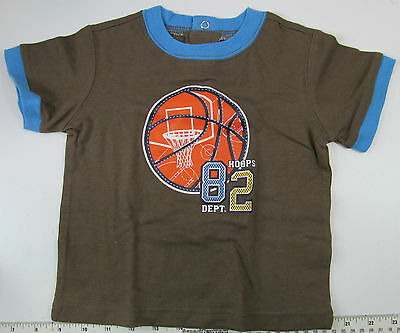 """Wonderkids 12Month """"Hoops 82 Dept"""" Shirt, New without Tags"""