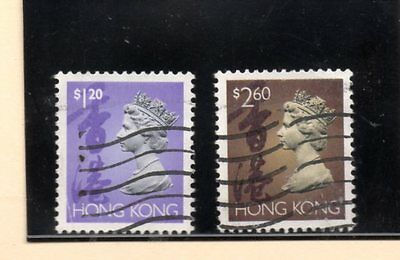 Hong Kong valores coloniales del año 1992-95 (BE-471)