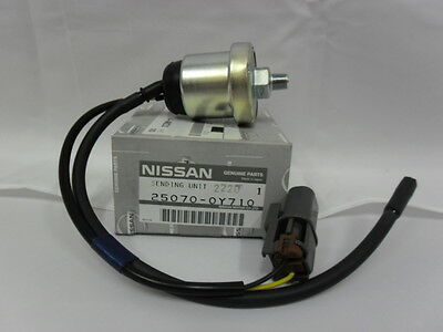 New Genuine Nissan Patrol Y60 GQ Oil Pressure Sender Unit Gauge Light