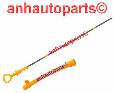Vw Engine Oil Dipstick &Tube for Beetle Golf Jetta with 2.0 Liter   99 to 05