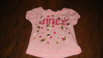 Juicy Couture 6-12 Floral Shirt