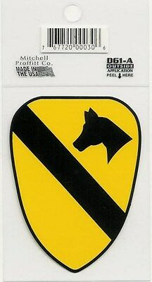 1st Cavalry Division Decal - Outside Application