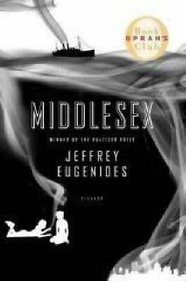 Middlesex by Jeffrey Eugenides (English) Paperback Book Free Shipping!