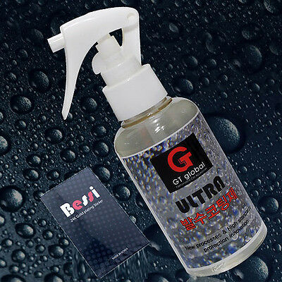 (made in korea) Anti Glare & Rain Windshield Glass Water Repellant coating 120ml
