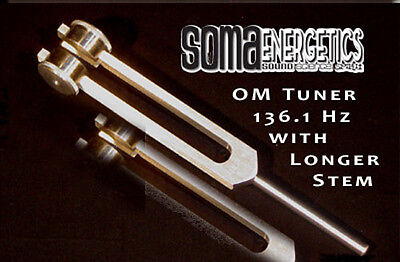 Long Stem OM Tuner ~ Tuning Fork ~ Exclusively Manufactured for SomaEnergetics!