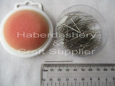 Pins Hardened/polished/long Sponge Top 34Mmx 0.60Mm 20Grams