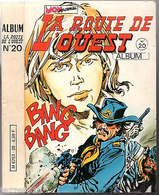 ALBUM LONG RIFLE n°20 ¤ avec n°58-59-60 ¤ 1979 mon journal
