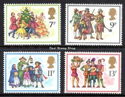 GB 1978 Christmas SG1071-4 Complete Set Unmounted Mint
