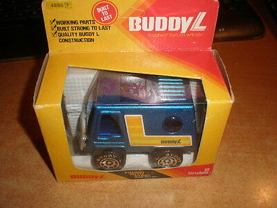 Pressed Steel Car   Buddy L  made in china  Mint in original box.