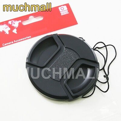 49mm 49 mm Center Pinch Snap On Front Lens Cap Cover for Canon Nikon Sony camera
