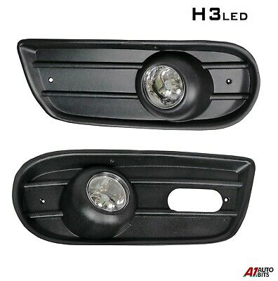 Vw Transporter T4 1996-2003 Fog Lights Lamps & Grill Set New