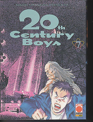 20th CENTURY BOYS  n°  7  I° edizione Planet Manga