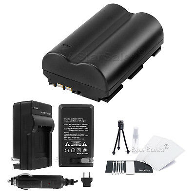 BP-511A Battery + Charger + BONUS for Canon PowerShot G1 G2 G3 G5 G6 Pro1 Pro90