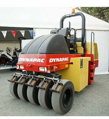 """2005 DYNAPAC CP142 15.5 TONNE 9 WHEEL PNEUMATIC TYRE ROLLER """"only 350 hours"""""""