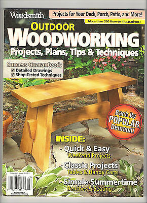 outdoor woodworking projects plans tips techniques