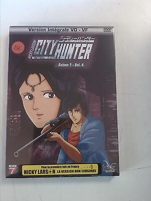 nicky larson,city hunter,saison 1,vol 4,dvd,neuf,manga